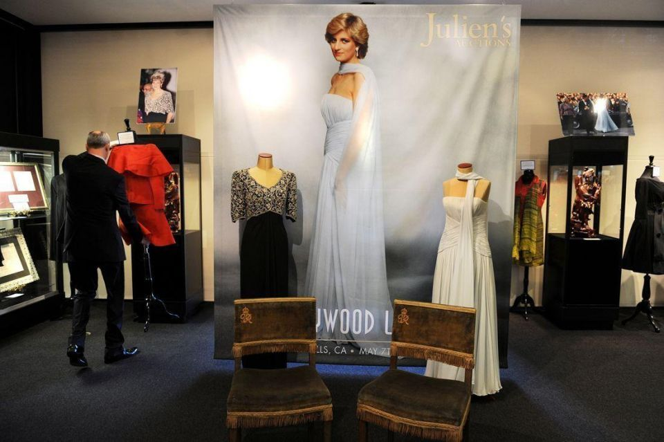 Princess Diana dresses sell for $276,000 at auction