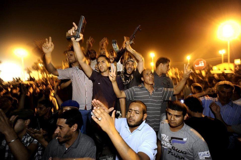 Terror rules in Tripoli