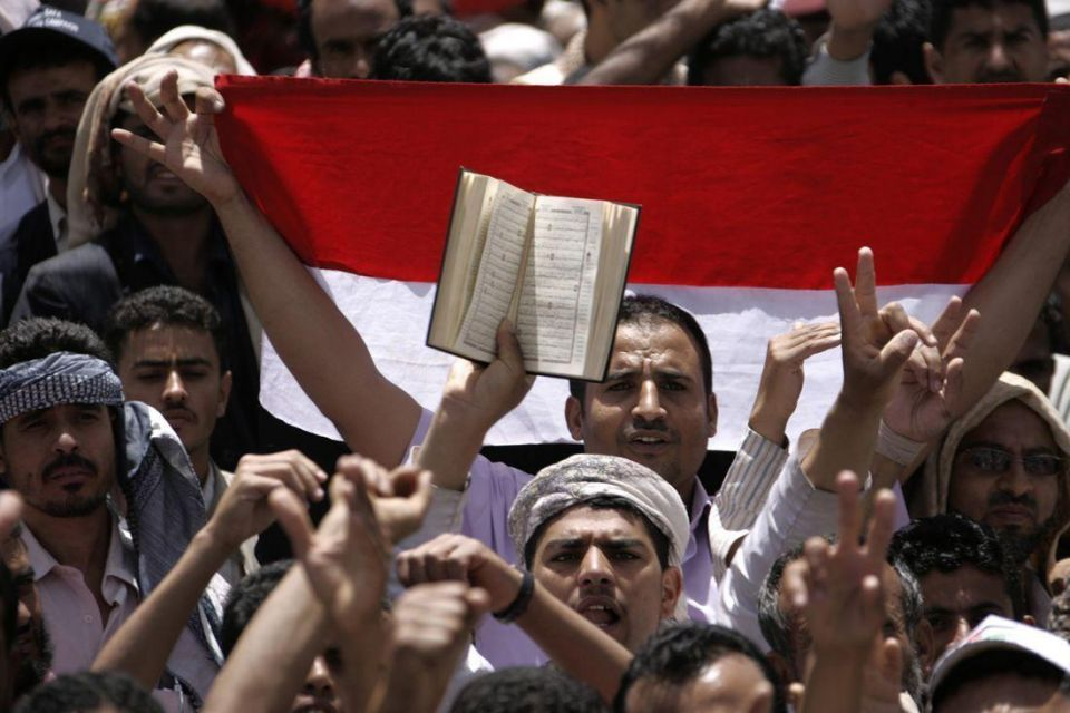 Security forces fire on Yemeni protesters