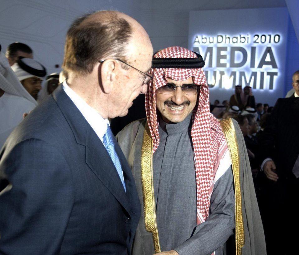 News Corp ups stake in Alwaleed's Rotana for $35m