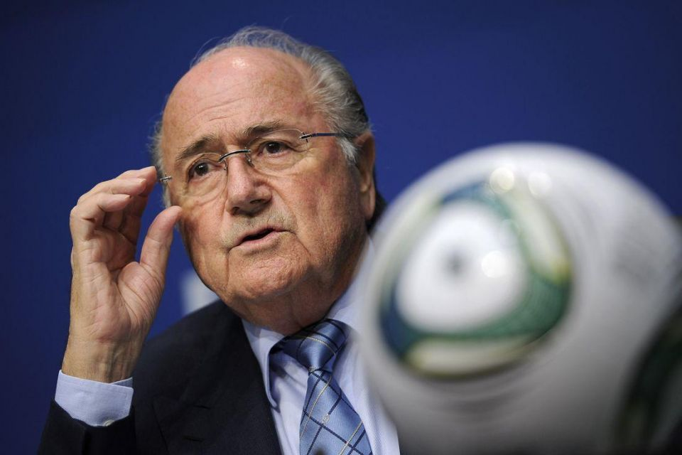 Emirates wades into Sepp Blatter racism row