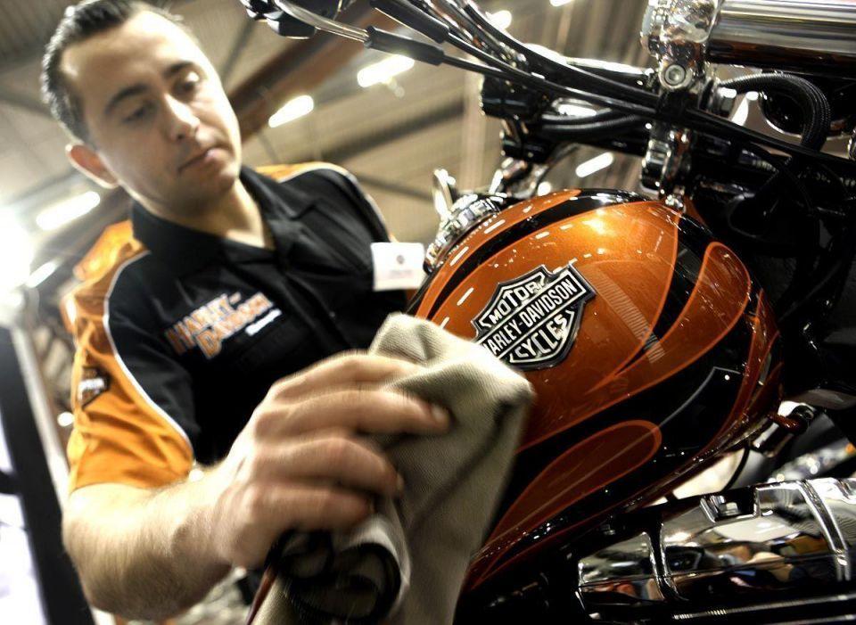 Harley-Davidson sales jump on Arab popularity