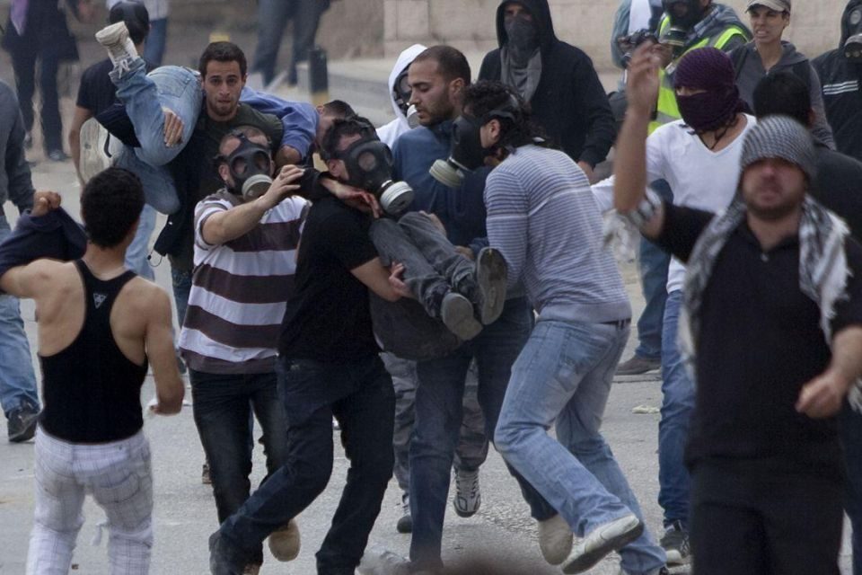 Palestinian protests erupt on the West Bank