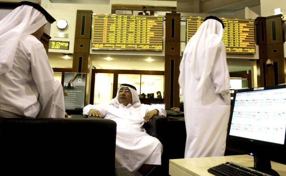 Oil price pullback weighs on most Gulf stock markets