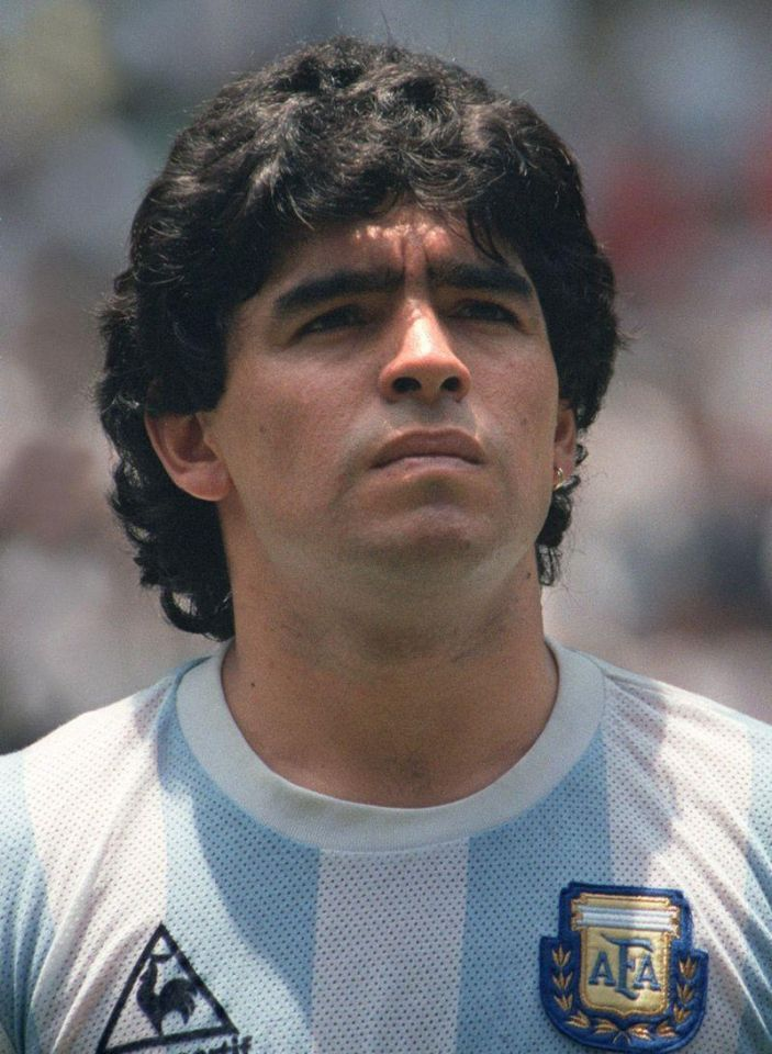 Glory and grief: football legend Maradona through the years