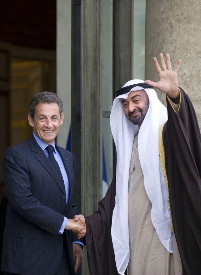 UAE, France hail bilateral bonds, discuss Middle East peace