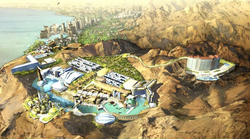 Jordan unveils plan for $1bn theme park