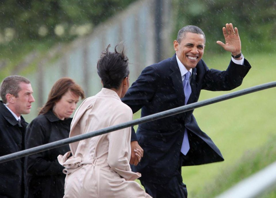 Ireland cheers Obama's return to his roots