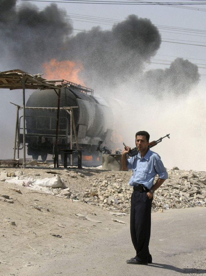 Iraq oil police frustrated and under-equipped