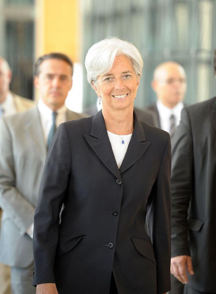France's Lagarde announces candidacy for top IMF job