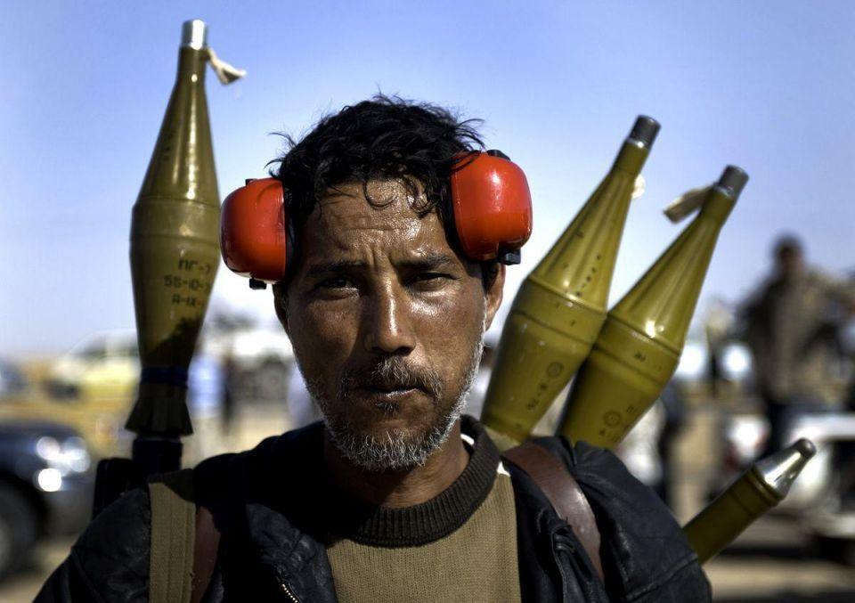 Qatari weapons reaching rebels in Libyan mountains