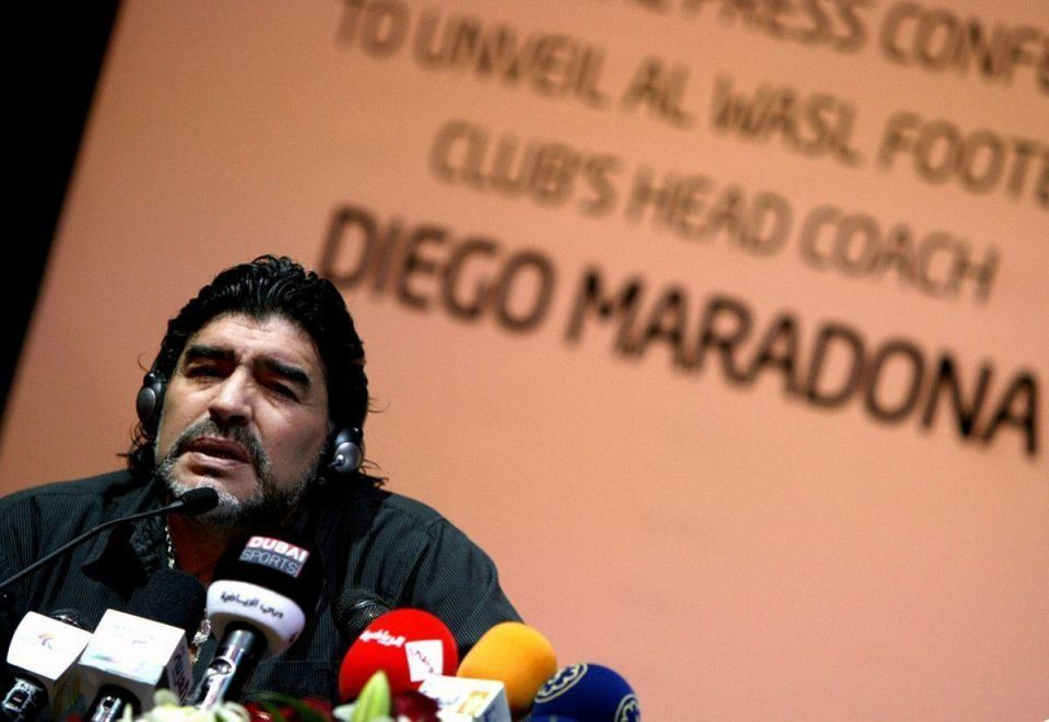 Maradona backs Jordan's Prince Ali to replace FIFA's Sepp Blatter