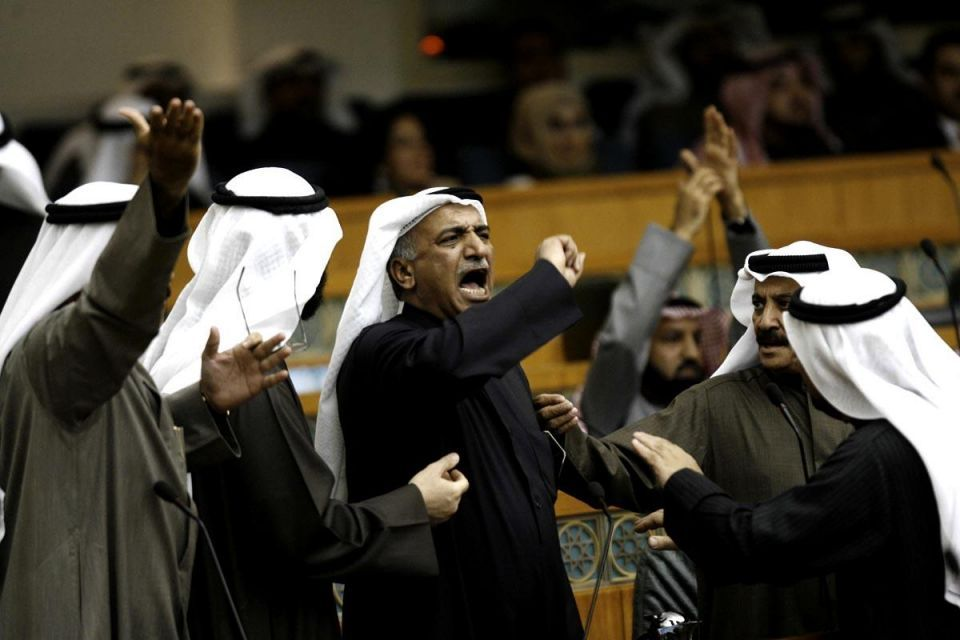 Thousands of Kuwaitis protest electoral law move
