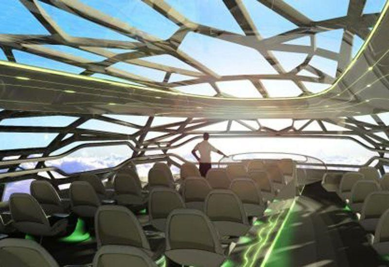 Airbus reveals designs for transparent planes by 2050