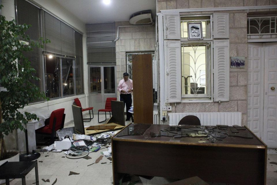 French news agency's Jordan office attacked