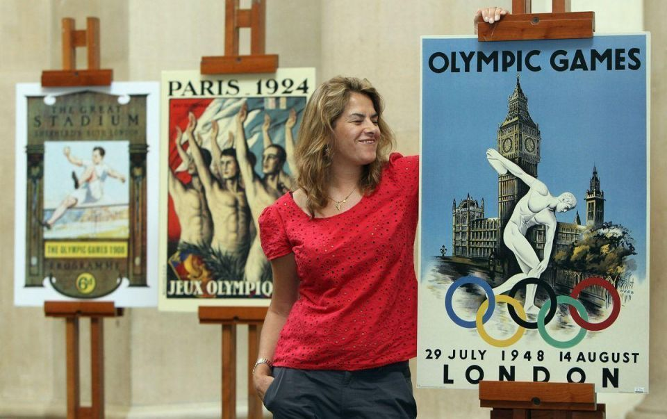 Arts meets sports as London 2012 poster designers unveiled
