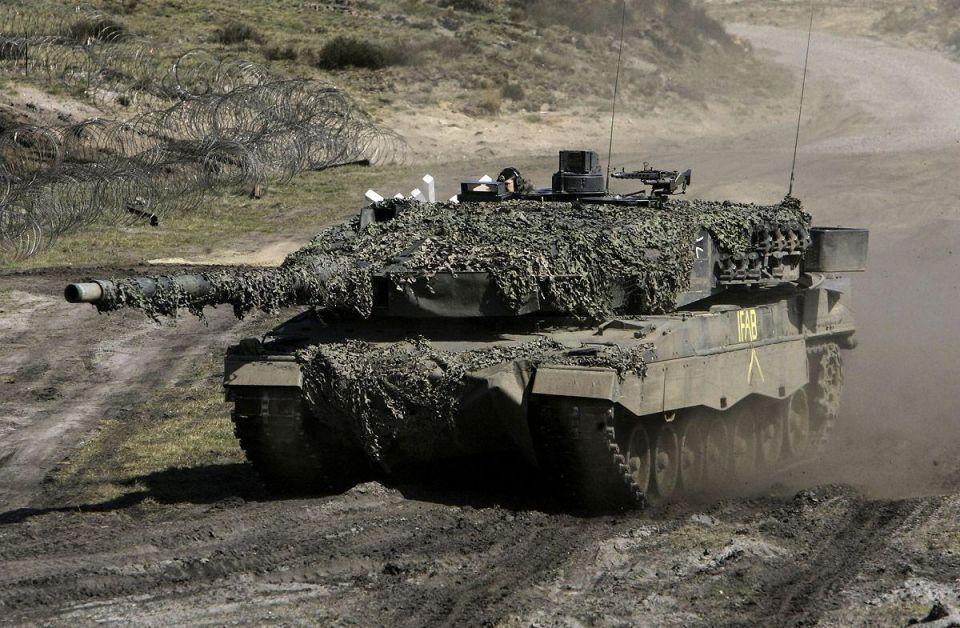 German firm said to win Qatar tanks contract