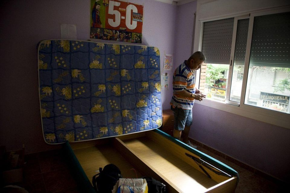 Thousands face eviction as mortgage repossessions rise in Spain