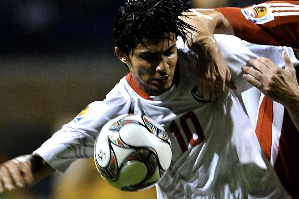UAE footballer's back-heeled penalty kick video goes viral