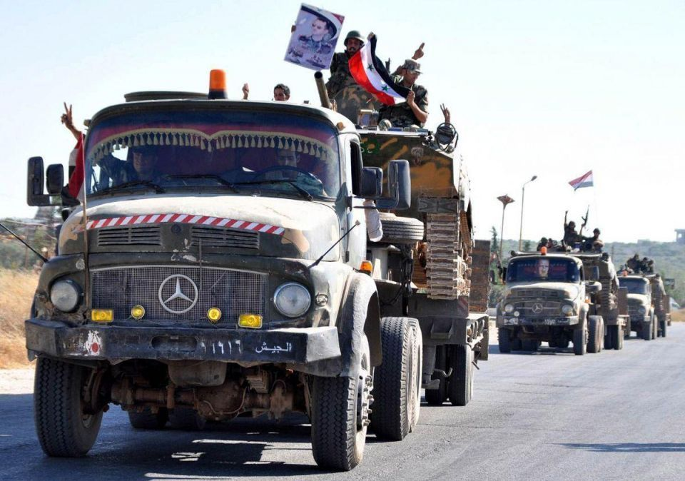Turkey says Syrian soldiers leaving Hama