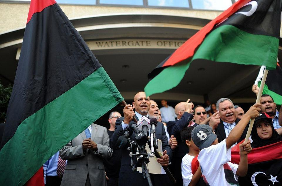 Libyan rebels reopen country's embassy in Washington