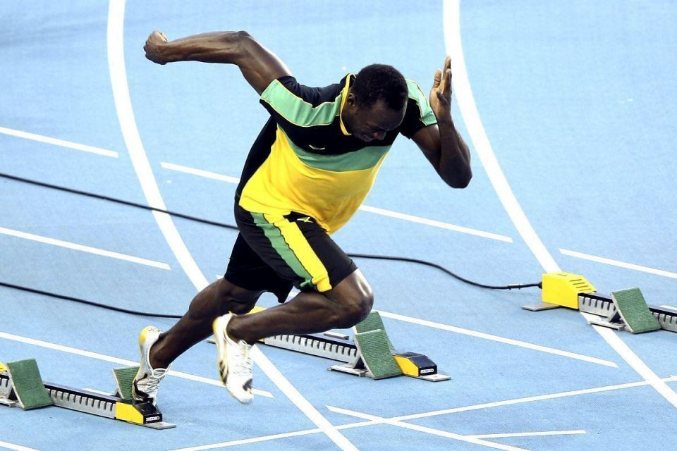 Dramatic exit ends Usain Bolt's monopoly in 100m event