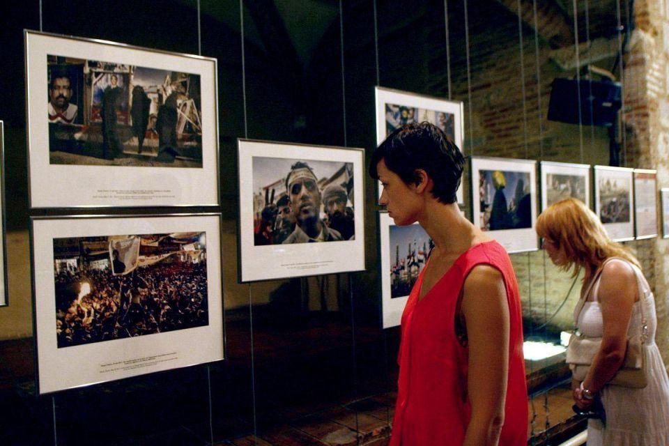 'Revolution road' to Arab Spring displayed at photo exhibit
