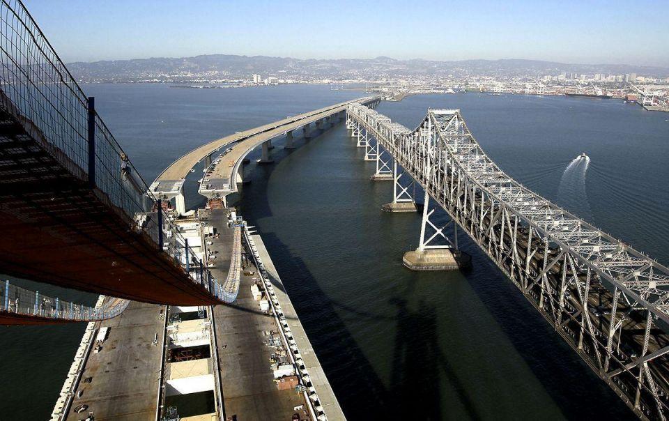 The world's largest self-anchored suspension bridge