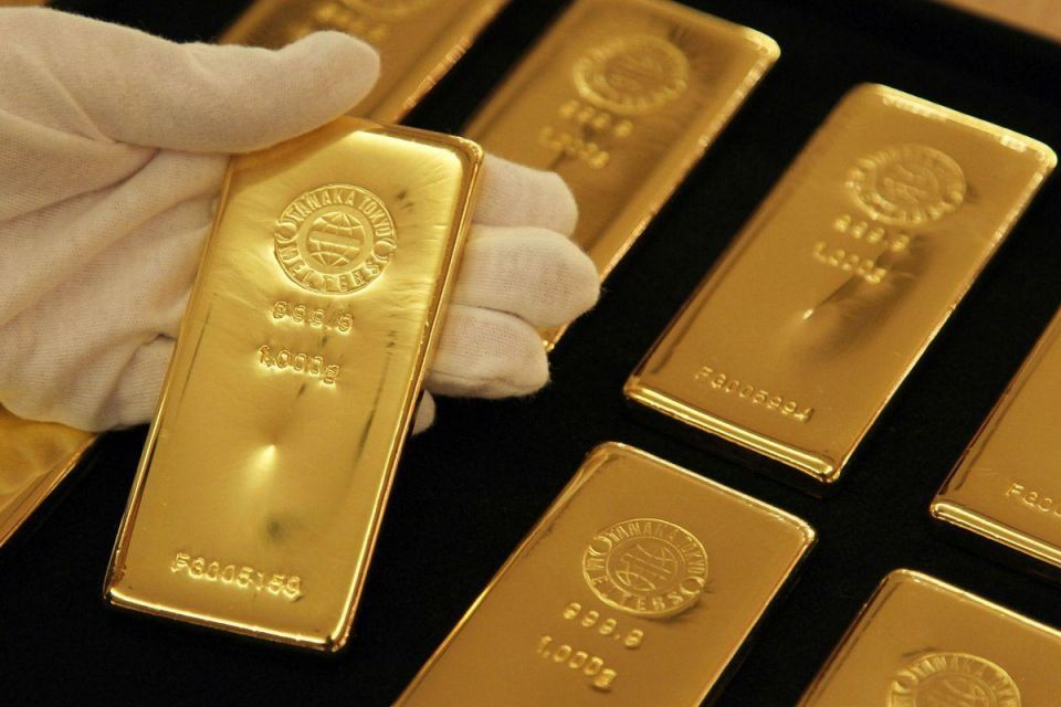Gold hits record high of $1,920 on euro zone fears