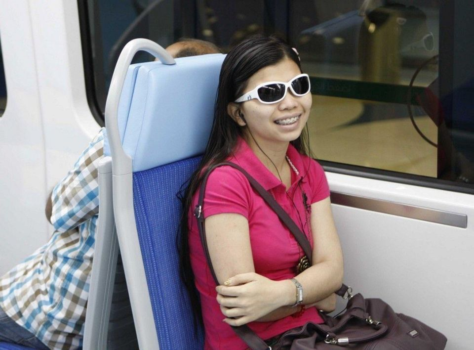 Passengers ride the Green Line on day 1 of operations