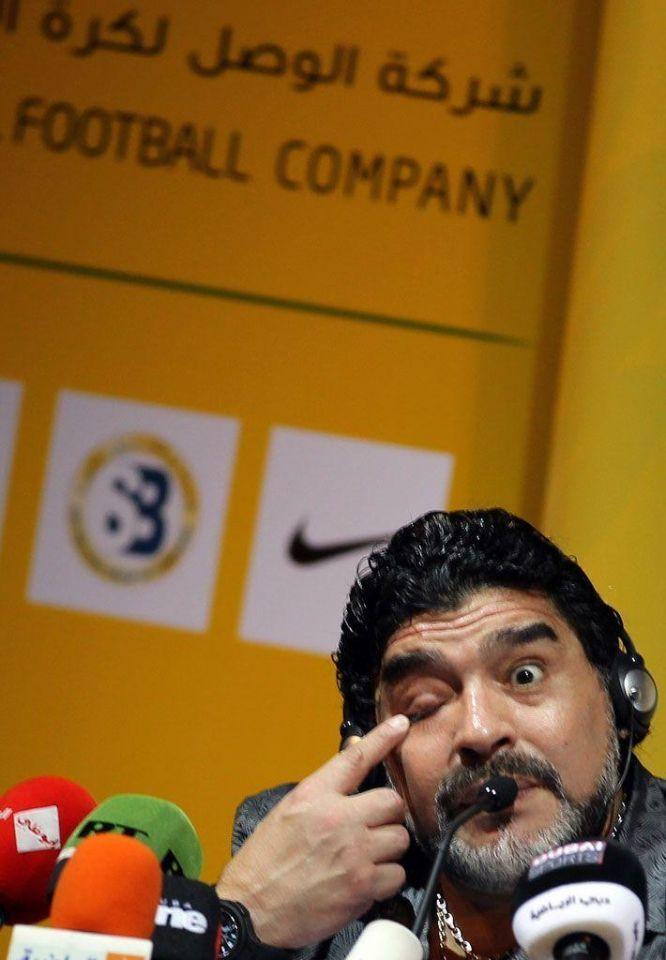 Diego Maradona says football is like Pandora's box