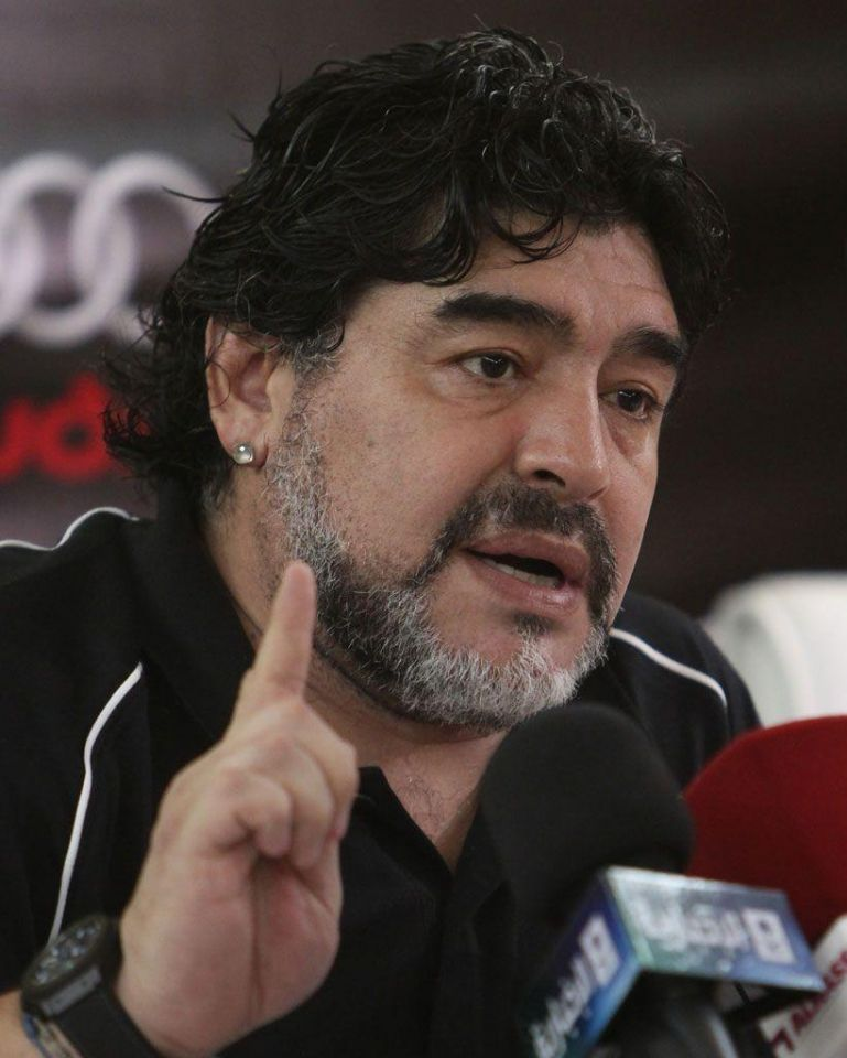 "Sheikh Rashid was ""a first class athlete,"" says Maradona"