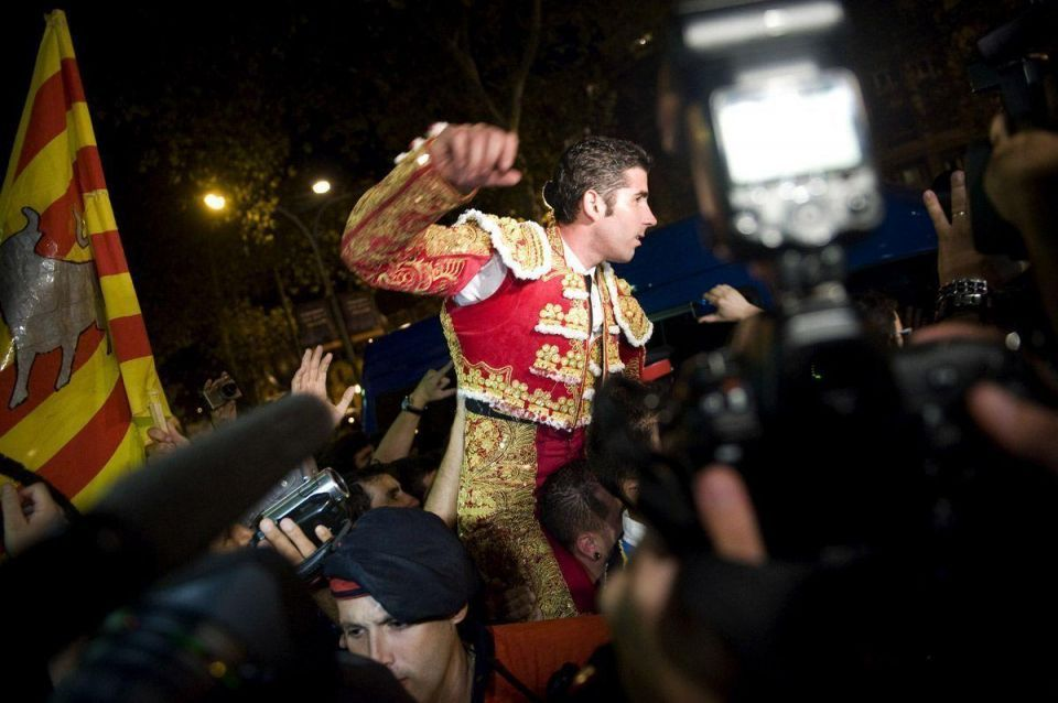 Final Olé: matadors hold the last bullfights in Barcelona