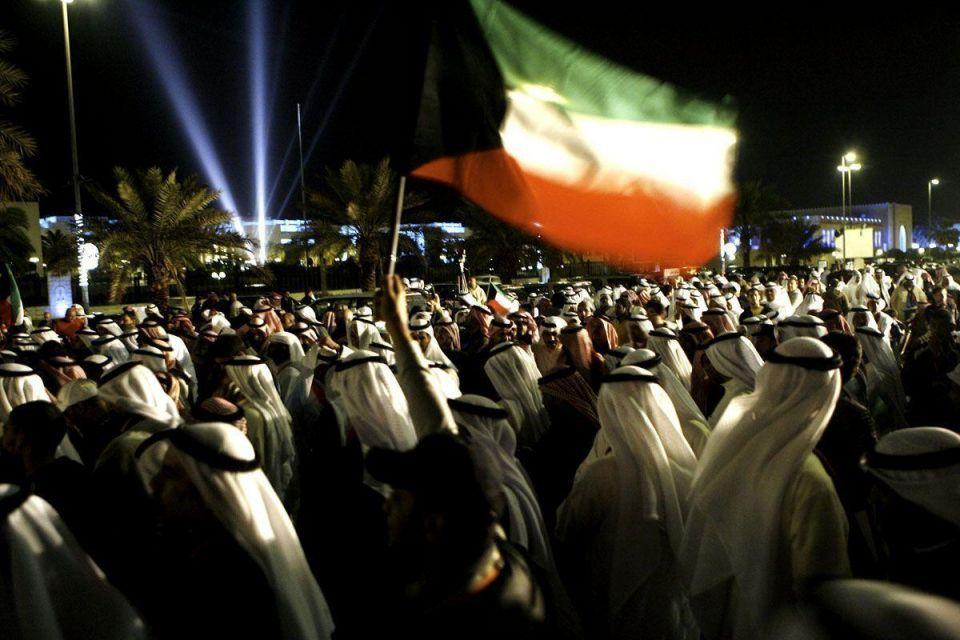Kuwait protesters in Porsches shake democracy pioneer