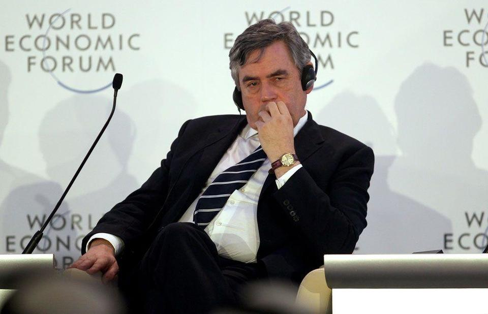 Euro will not survive in present form, Gordon Brown says