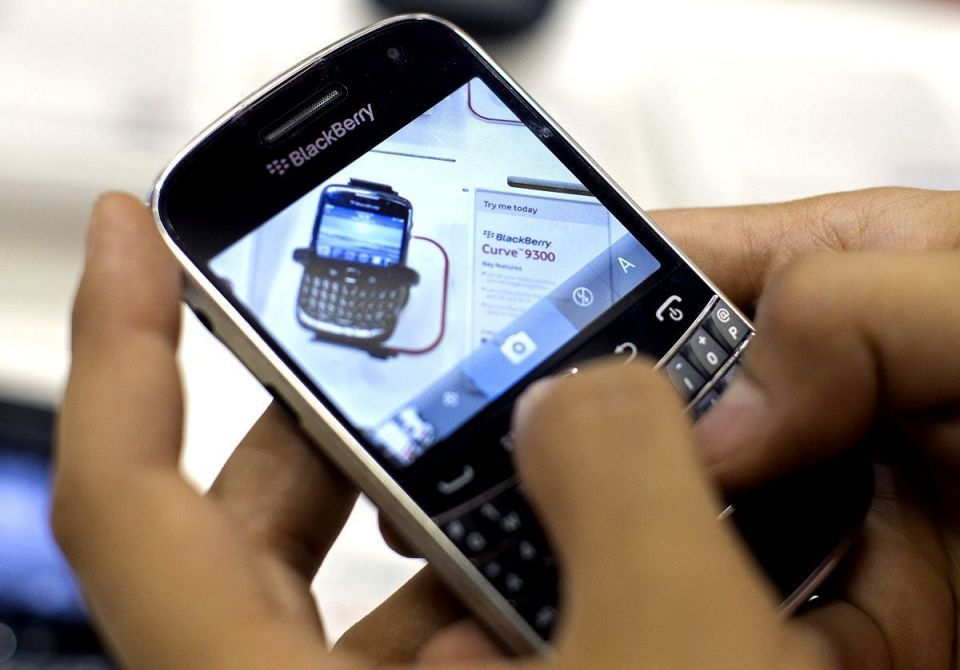 BlackBerry maker posts narrower than expected loss