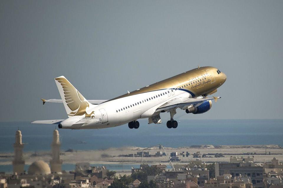 Bahrain's Gulf Air launches first Al Maktoum flight
