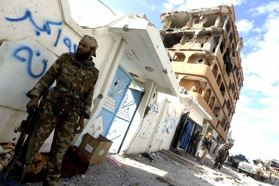 Libya's looted missiles 'still in the country'