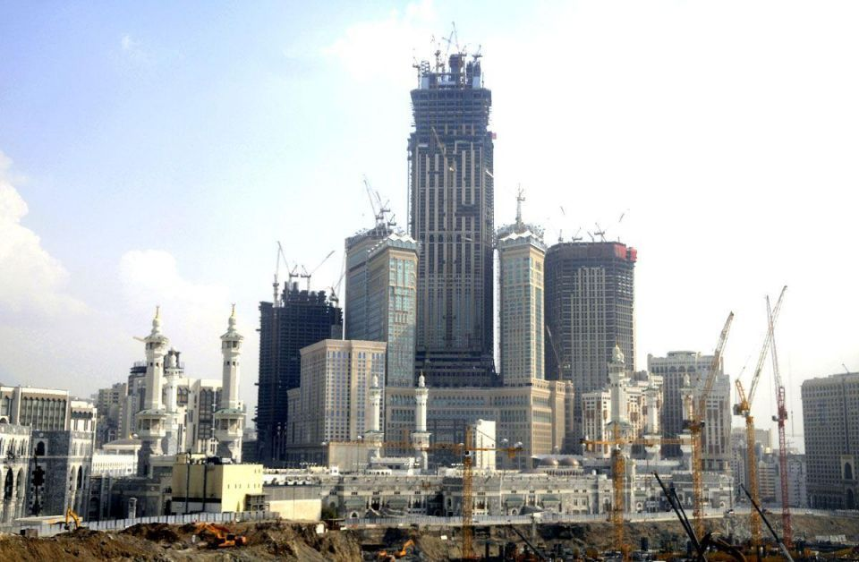 Saudi hotel construction boom being led by Makkah