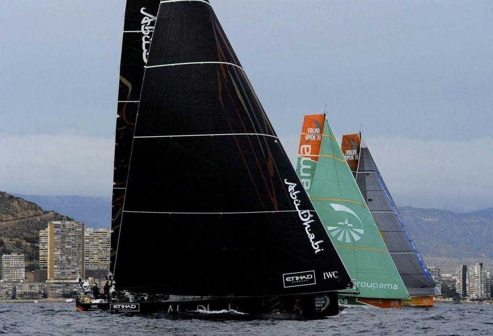 Abu Dhabi storms ahead at Volvo Ocean Race opener