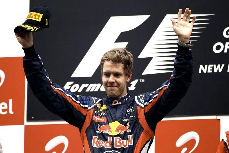 Join Vettel on flying lap at Bahrain Grand Prix
