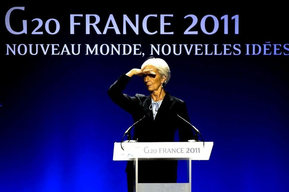 IMF chief says global outlook is 'quite gloomy'