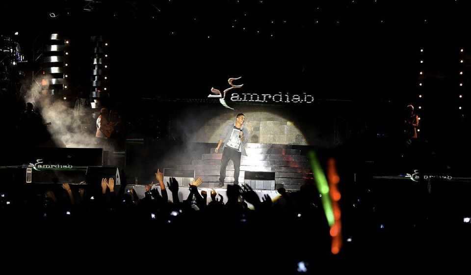 Egyptian popstar rocks Cairo with sold-out concert over Eiid