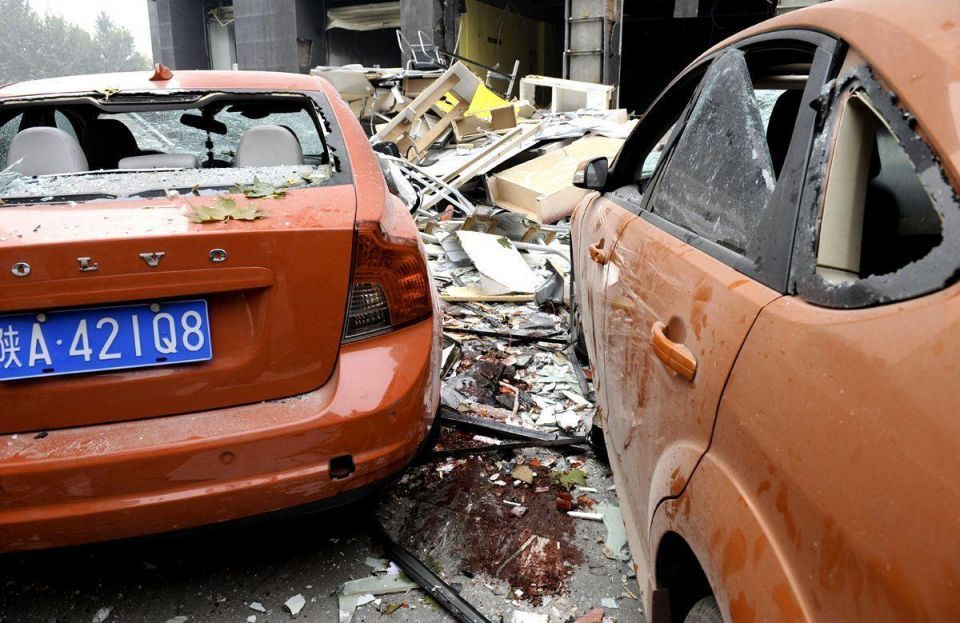 Gas explosion in Chinese restaurant kills at least nine