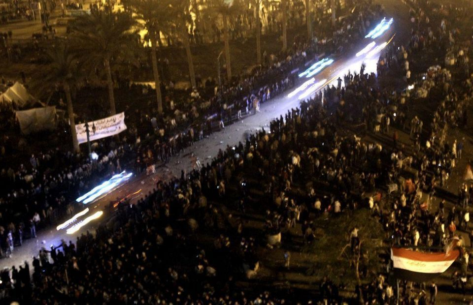 Egypt extends anti-army protest in Tahrir Square