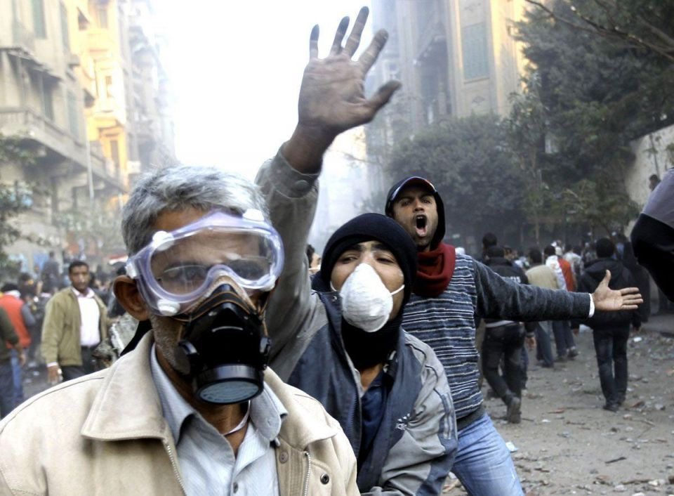 Thousands of Egyptians demand end to military rule