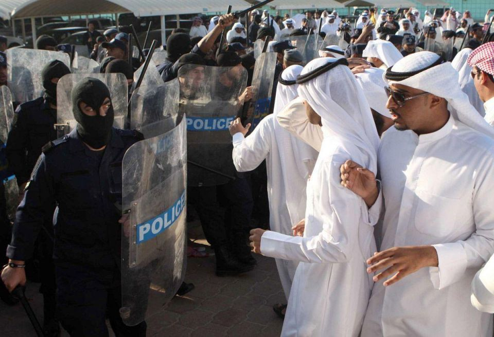 Lawmaker hurt as Kuwait police use batons amid rally