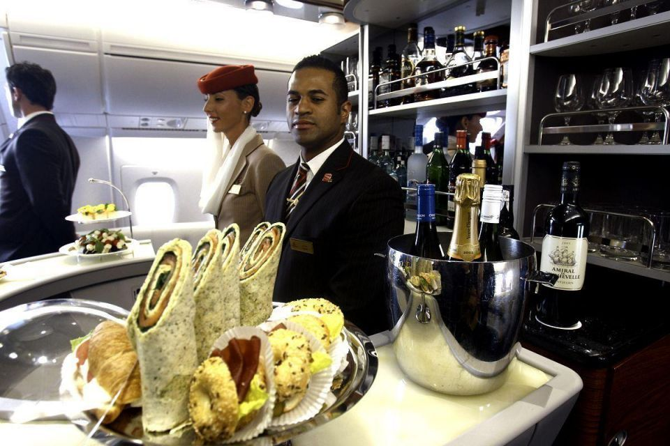 Revealed: Top ten airlines for in flight food