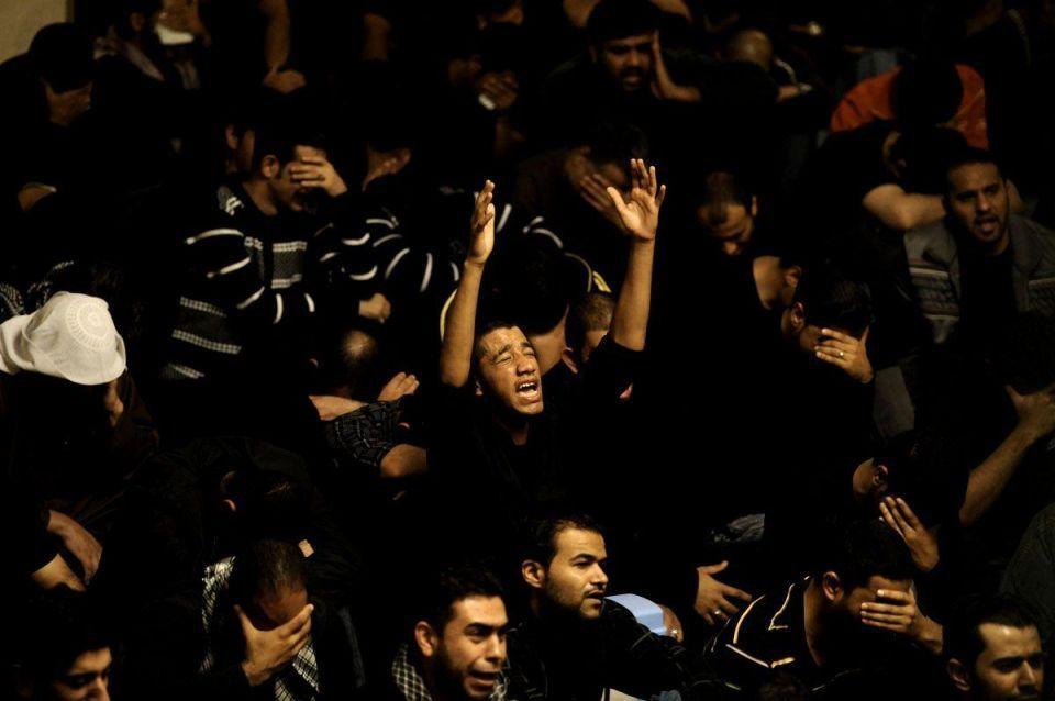 Bahraini Shia Muslims mourn to mark Day of Ashura