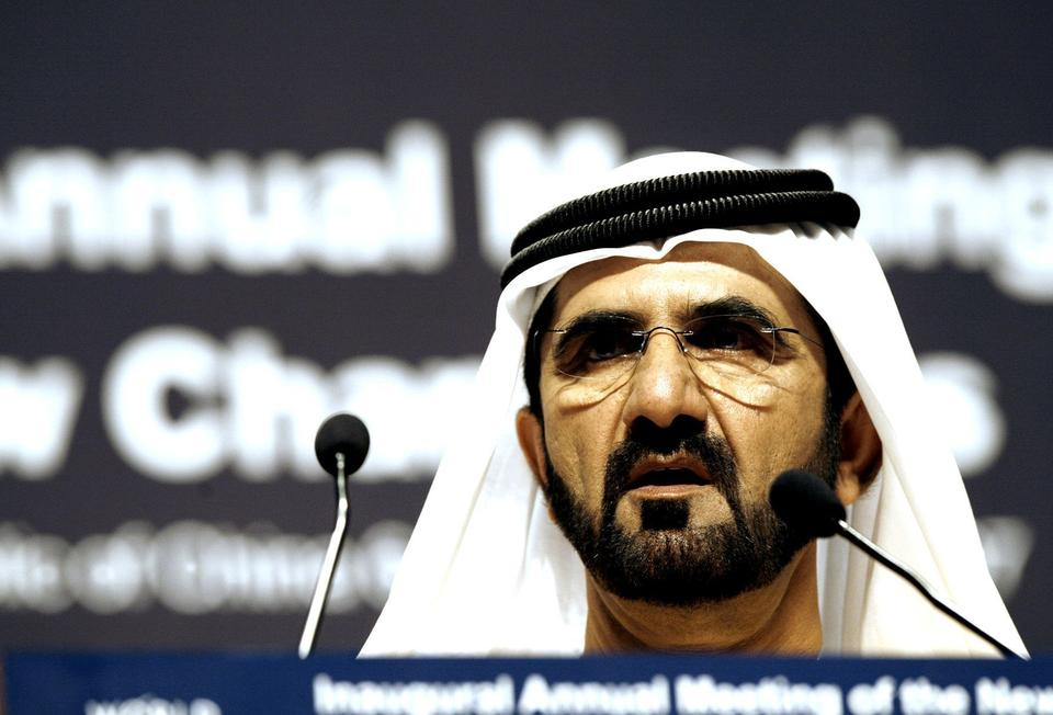Dubai will push on with grand plans - ruler